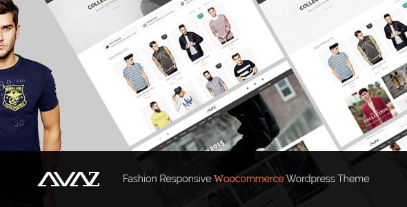 AVAZ V1.1 WooCommerce Responsive Moda Satış WordPress Teması