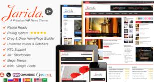 jarida-profesyonel-wordpress-blog-temasi