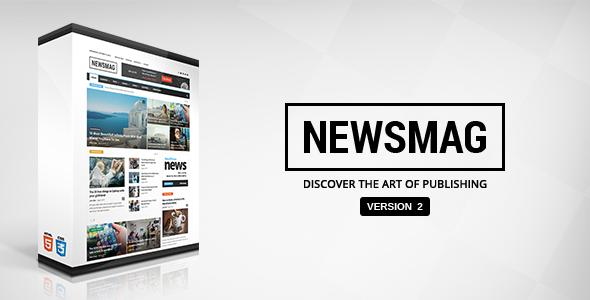 NewsMag WordPress Magazin & Haber Teması