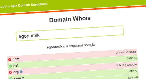 php-domain-sorgulama-scripti