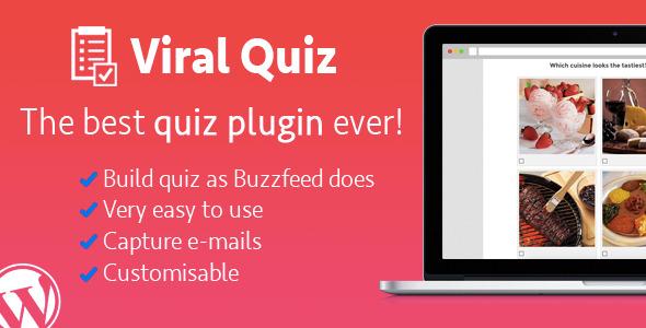 Ücretsiz WordPress Viral Quiz Eklentisi