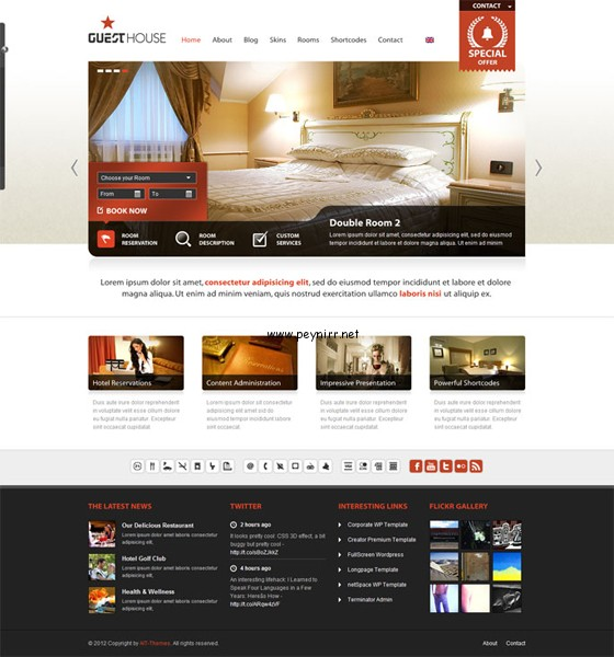 wordpress-otel-temasi